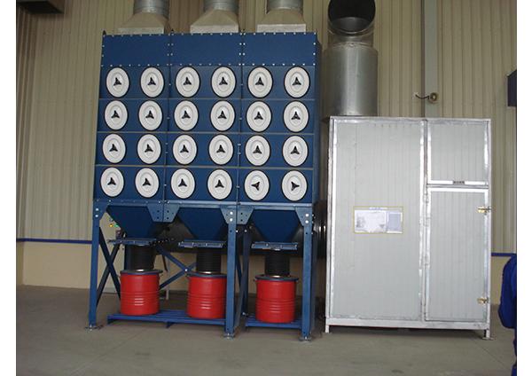 组合式脉冲滤芯除尘器