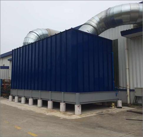 东风日产焊装车间烟尘处理系统